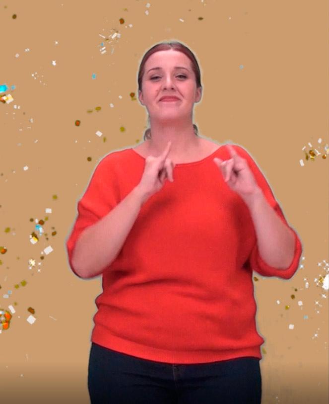 Interprete lengua de signos